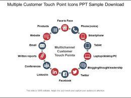 77898221 Style Circular Loop 14 Piece Powerpoint Presentation Diagram Infographic Slide