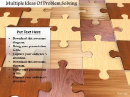 Multiple Ideas Of Problem Solving Image Graphics For Powerpoint