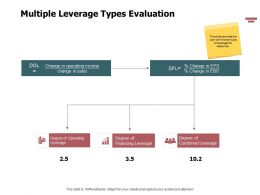 Multiple Leverage Types Evaluation Powerpoint Presentation Inspiration