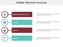 Multiple Merchant Accounts Ppt Powerpoint Presentation Icon Demonstration Cpb