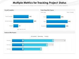 Multiple Metrics For Tracking Project Status