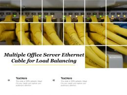 Multiple Office Server Ethernet Cable For Load Balancing