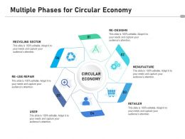 Multiple Phases For Circular Economy
