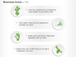 Multiple Process Flow Child Hand On Adult Hand Ppt Icons Graphics
