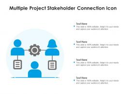 Multiple Project Stakeholder Connection Icon