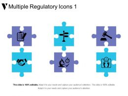Multiple Regulatory Icons 1 Sample Ppt Presentation