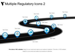 Multiple Regulatory Icons 2 Good Ppt Example