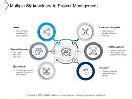 Multiple Stakeholders In Project Management