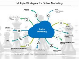 Multiple Strategies For Online Marketing