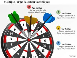 Multiple Target Selection Techniques Image Graphics For Powerpoint