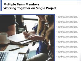 Multiple Team Members Working Together On Single Project