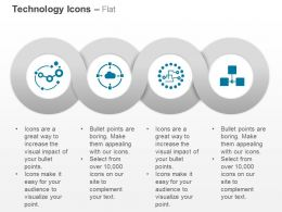 Multiple Technology Icons Business Ppt Icons Graphics
