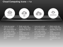 Multiple Uploads Wifi Sharing Cloud Services Ppt Icons Graphics