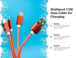 Multiport USB Data Cable For Charging