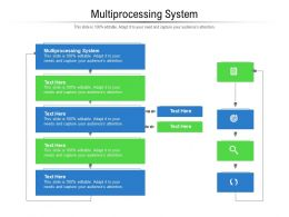 Multiprocessing System Ppt Powerpoint Presentation Show Samples Cpb