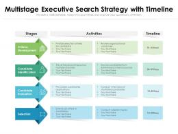 Multistage Executive Search Strategy With Timeline