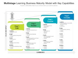 Multistage Learning Business Maturity Model With Key Capabilities
