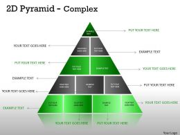 Multistaged 2D Pyramid Design