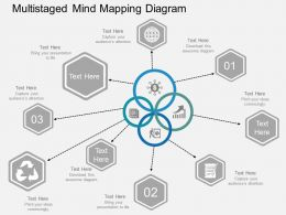 multistaged_mind_mapping_diagram_flat_powerpoint_design_Slide01