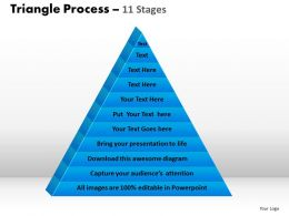 Multistaged Triangular Process Design