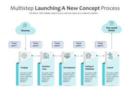 Multistep Launching A New Concept Process