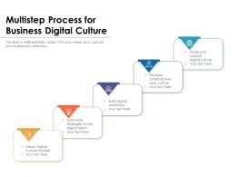 Multistep Process For Business Digital Culture