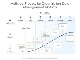 Multistep Process For Organisation Data Management Maturity