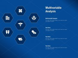 Multivariable Analysis Ppt Powerpoint Presentation Infographic Template Design Inspiration