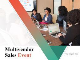 Multivendor Sales Event Powerpoint Presentation Slides