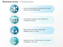 Multiway Business Skills Target Achievement Business Communication Mobile Apps Ppt Icons Graphics