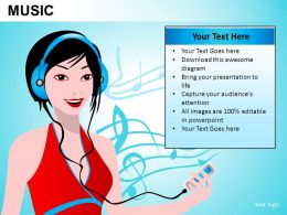 Music Powerpoint Presentation Slides DB