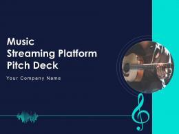 Music Streaming Platform Pitch Deck Ppt Template