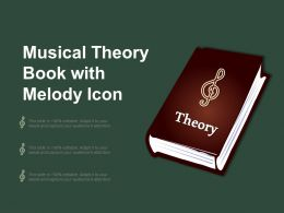 Musical Theory Book With Melody Icon