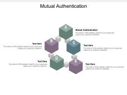 Mutual Authentication Ppt Powerpoint Presentation Gallery Deck Cpb