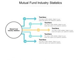Mutual Fund Industry Statistics Ppt Powerpoint Presentation Model Elements Cpb