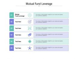 Mutual Fund Leverage Ppt Powerpoint Presentation Gallery Designs Cpb