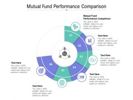 Mutual Fund Performance Comparison Ppt Powerpoint Presentation Infographics Example Introduction Cpb