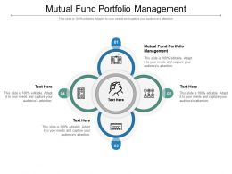 Mutual Fund Portfolio Management Ppt Powerpoint Presentation Icon Information Cpb