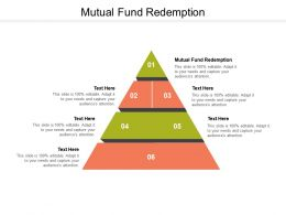 Mutual Fund Redemption Ppt Powerpoint Presentation Styles Gridlines Cpb