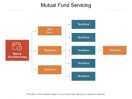 Mutual Fund Servicing Ppt Powerpoint Presentation Gallery Master Slide Cpb