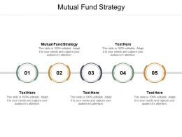Mutual Fund Strategy Ppt Powerpoint Presentation Icon Infographics Cpb
