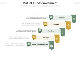 Mutual Funds Investment Ppt Powerpoint Presentation Infographic Template Model Cpb