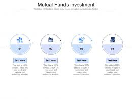 Mutual Funds Investment Ppt Powerpoint Presentation Inspiration Summary Cpb