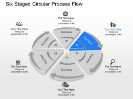 mw Six Staged Circular Process Flow Powerpoint Template