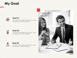My Goal Acheivement F289 Ppt Powerpoint Presentation Professional Topics
