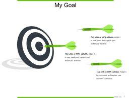 My Goal Powerpoint Slide Designs