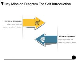 My Mission Diagram For Self Introduction Presentation Pictures