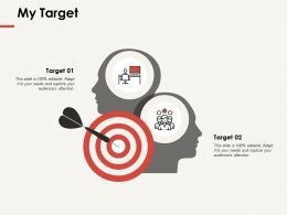 My Target Acheivement F291 Ppt Powerpoint Presentation Professional Elements