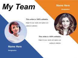 My Team Ppt Pictures Vector