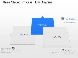 my Three Staged Process Flow Diagram Powerpoint Template